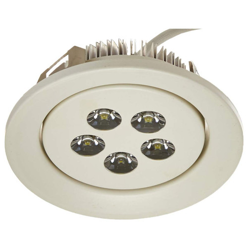 4 Inch - LED Trim - 5 Watt - Round - White