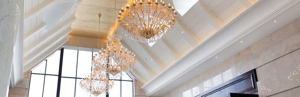 how to light a vaulted ceiling lightup