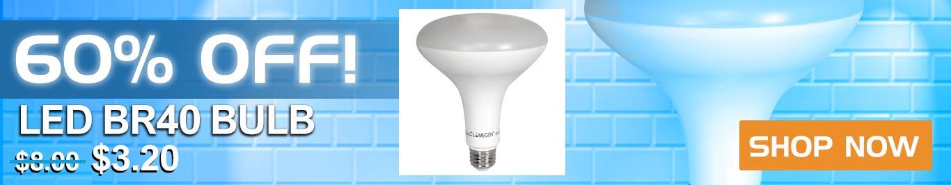 60% Off LED BR40 Bulbs