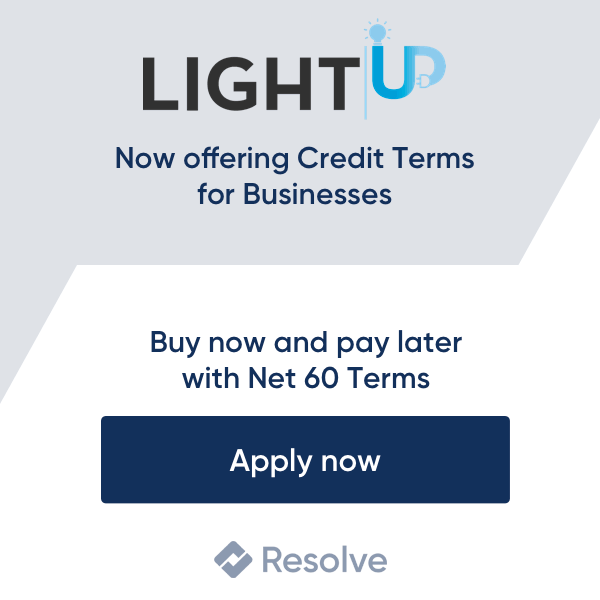 Pay with Resolve Net 60 Terms