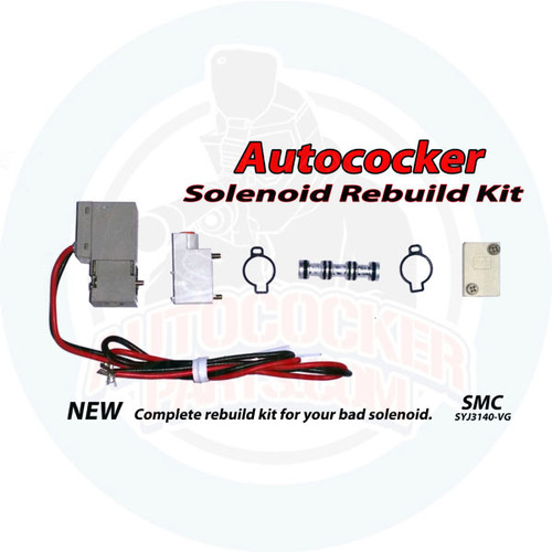 Autococker Solenoid Rebuild Kit