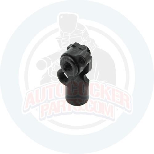 Autococker Mini / Orracle Front block - Slimline - Gloss Black