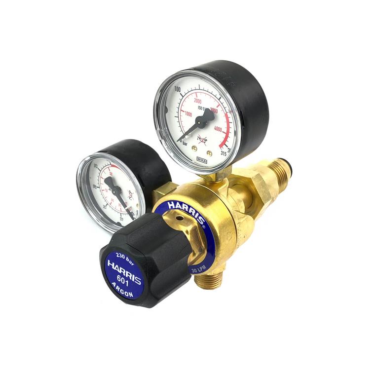 Harris 601 Argon Regulator / Flow meter - Rear Entry