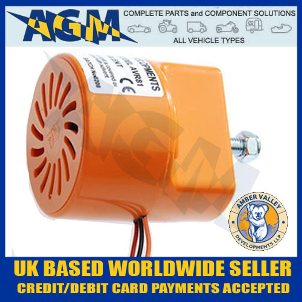 Amber Valley AVR81 12/24 Volt Reverse Alarm Bleeper
