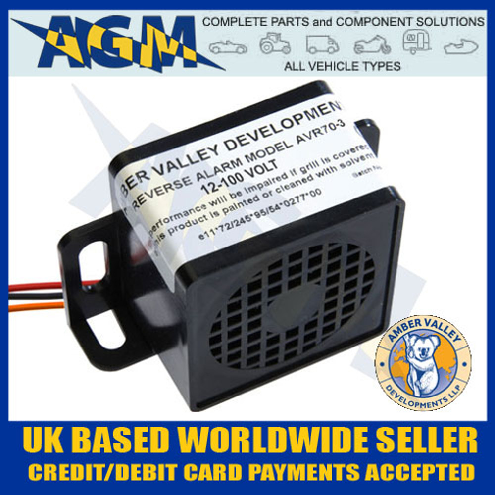 amber, valley, avr70-3, reverse, alarm, bleeper, car, van