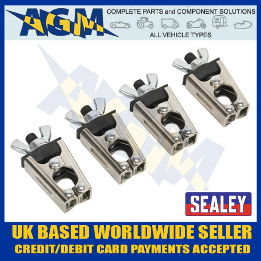 Sealey AK6804 Micro / Mini Welding Clamp Set 4 piece