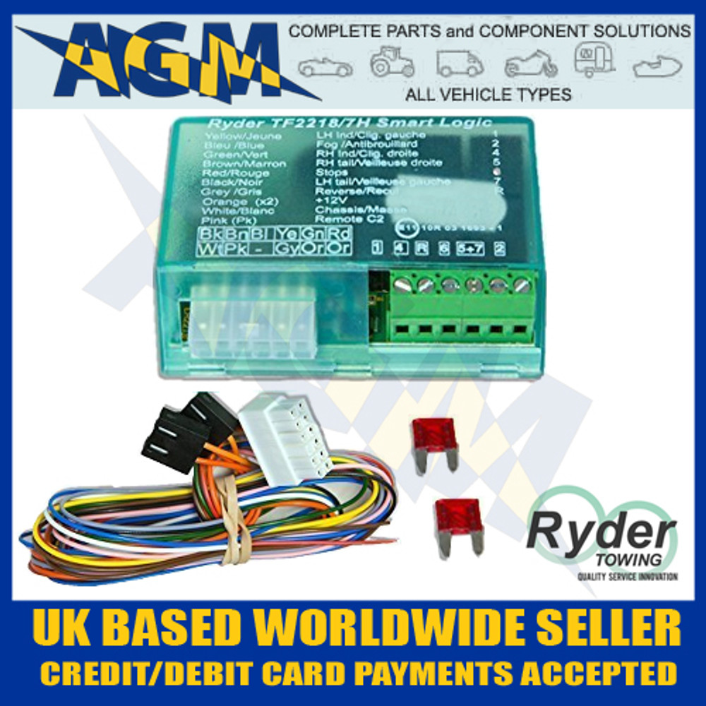 ryder smart logic 7 way bypass relay tf2218 7e for can bus multi rh agmpartscomponents co uk