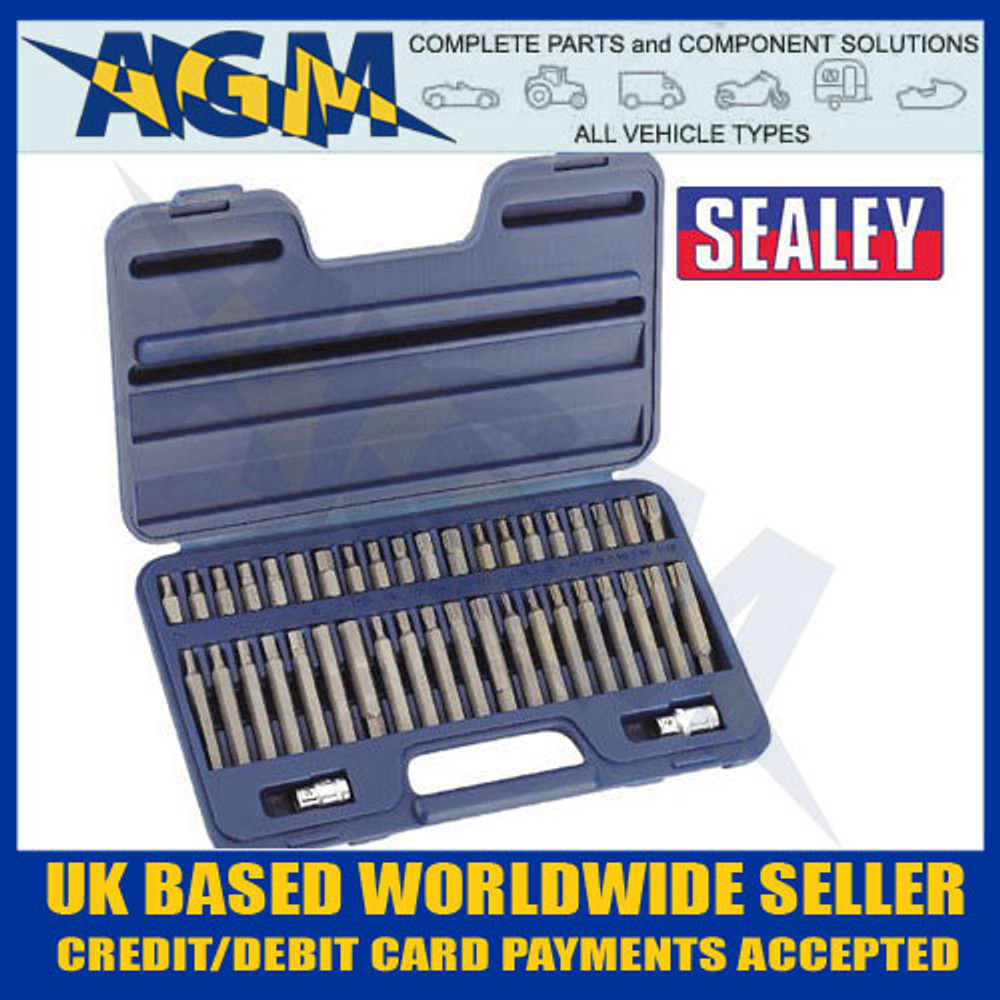 sealey, ak219, trx, star, hex, spline, bit, drive