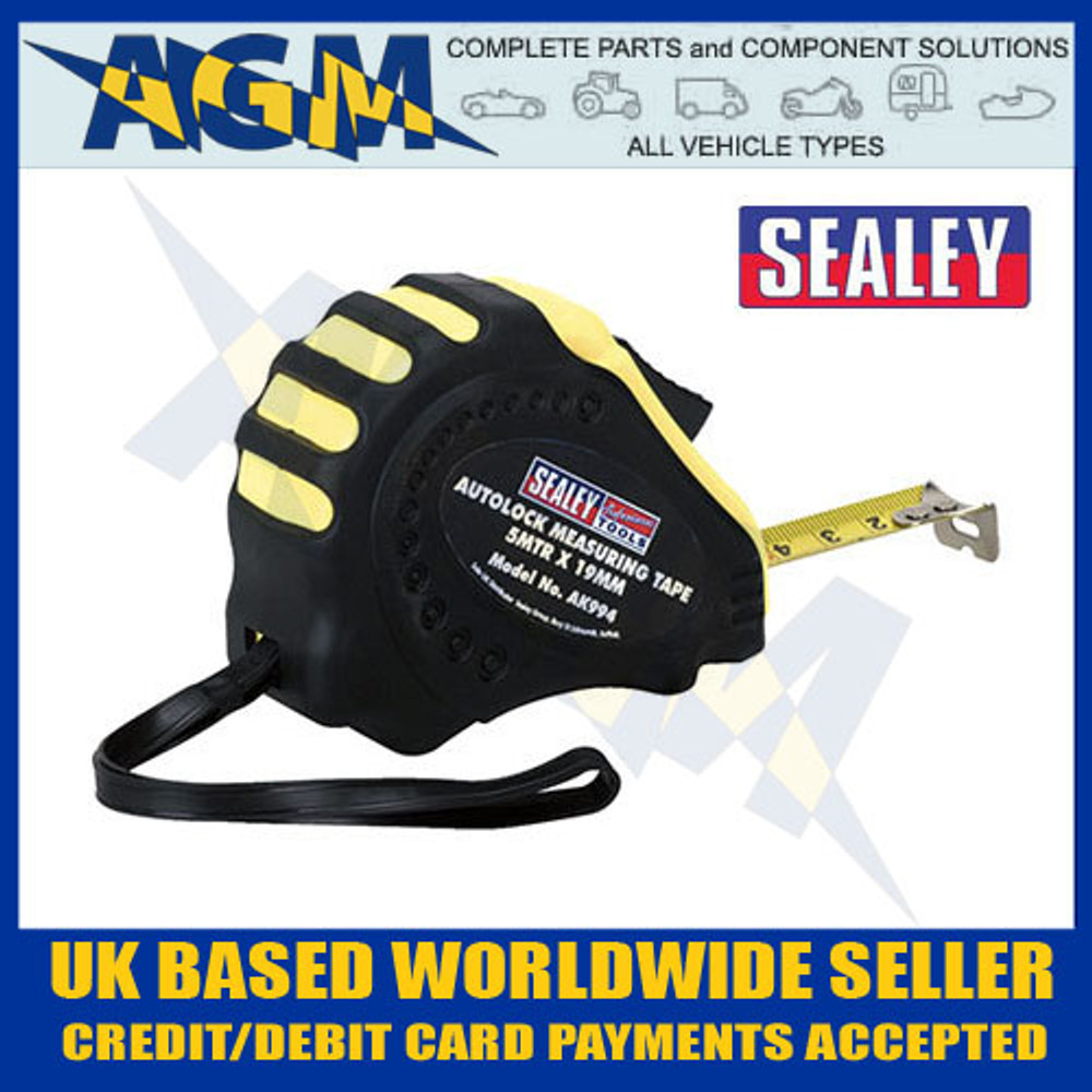 sealey, ak994, autolock, measure, tape