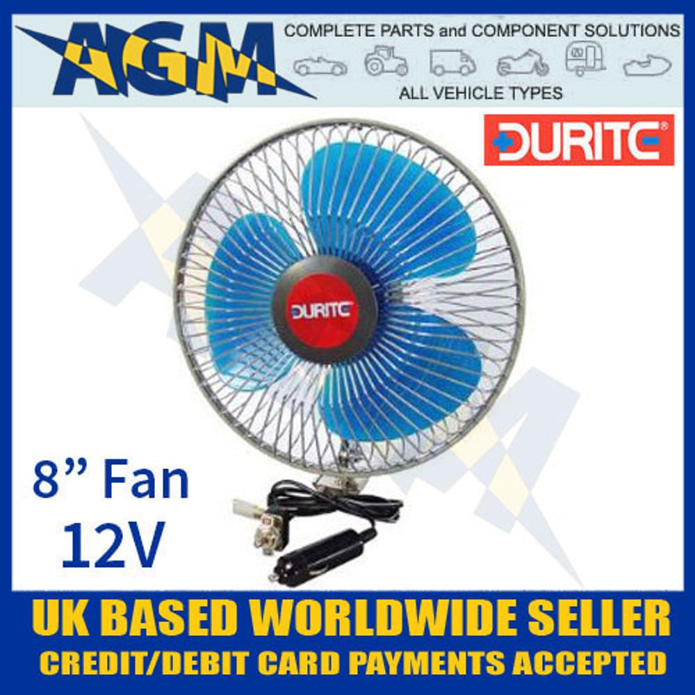 durite, 021062, 0-210-62, vehicle, 12v, oscillating, fan