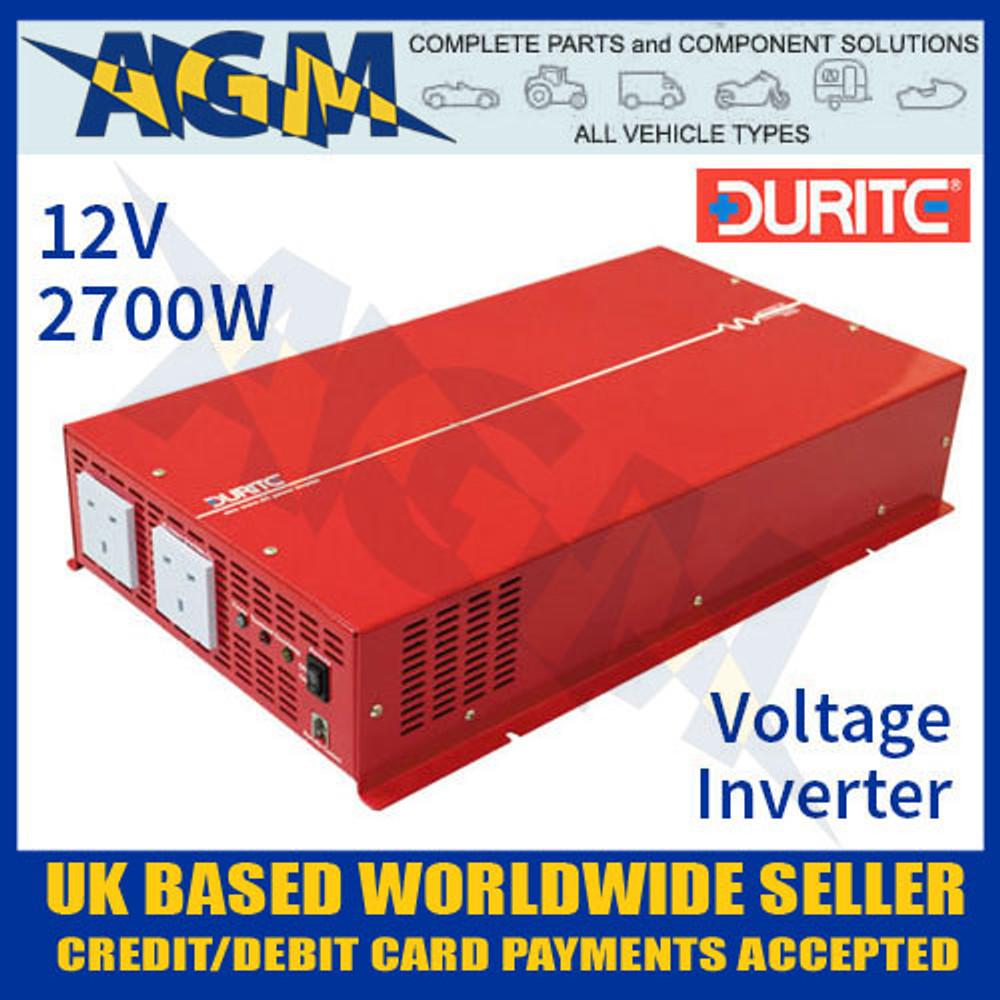 0-857-27 12V 2700W Durite Sine Wave Voltage Inverter