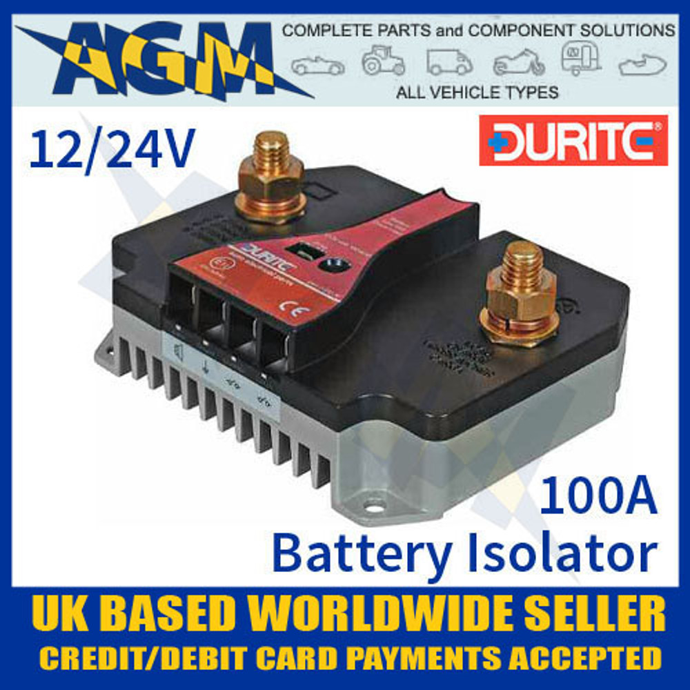 0-852-10 12V-24V 100A Solid State Battery Guard and Disconnect
