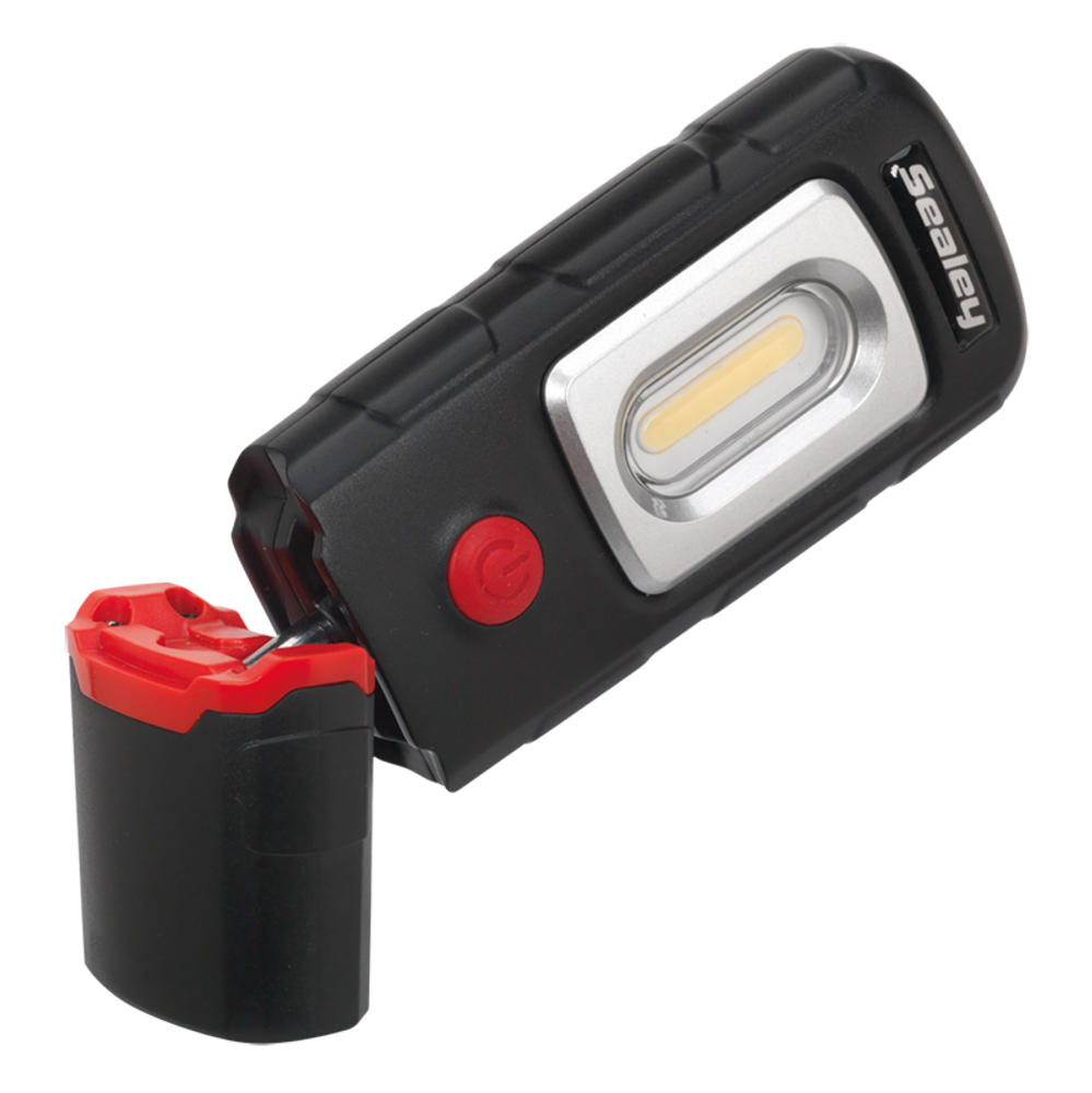 Sealey LED3601 Rechargeable 360° Inspection Lamp - Angled