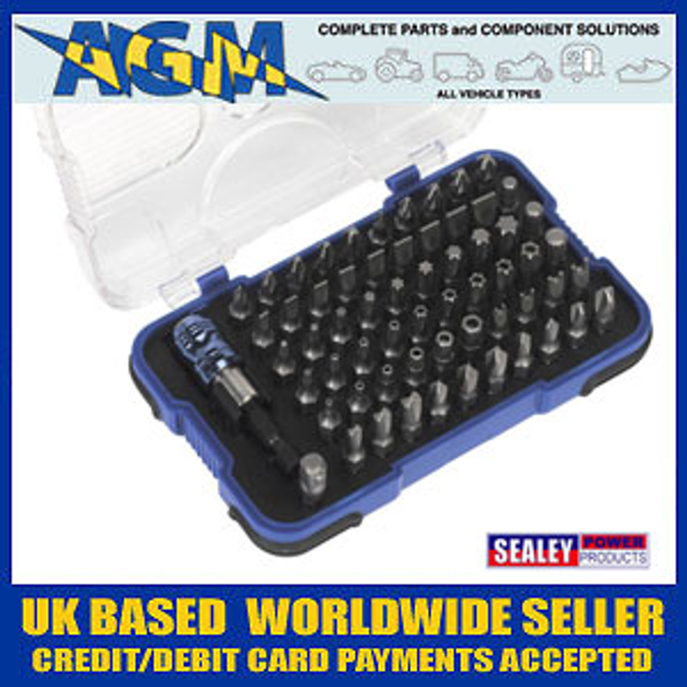 Sealey  AK2108 Power Tool/Security Bit Set 62pc
