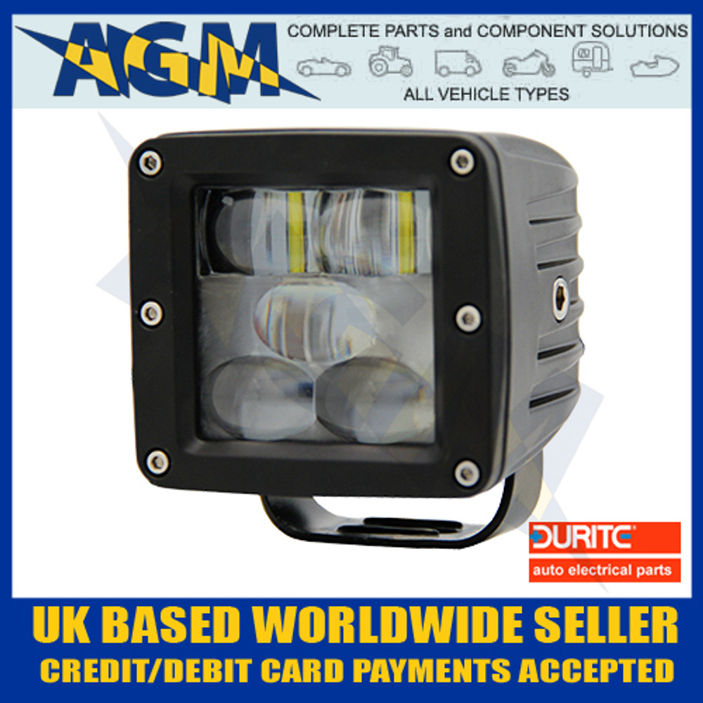 Durite 0-420-85 Red Safety Zone Warning Lamp 10-80v