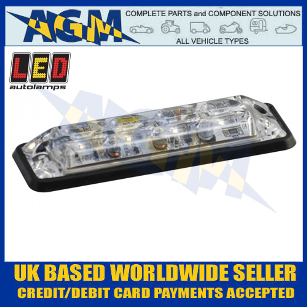LED Autolamps SSLED4DVR Side View
