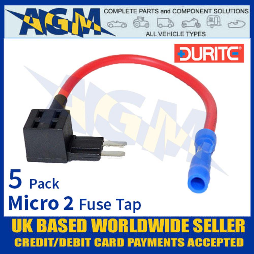0-376-89 Durite Micro 2 Fuse Tap, Fuse Tap Micro 2 Holder