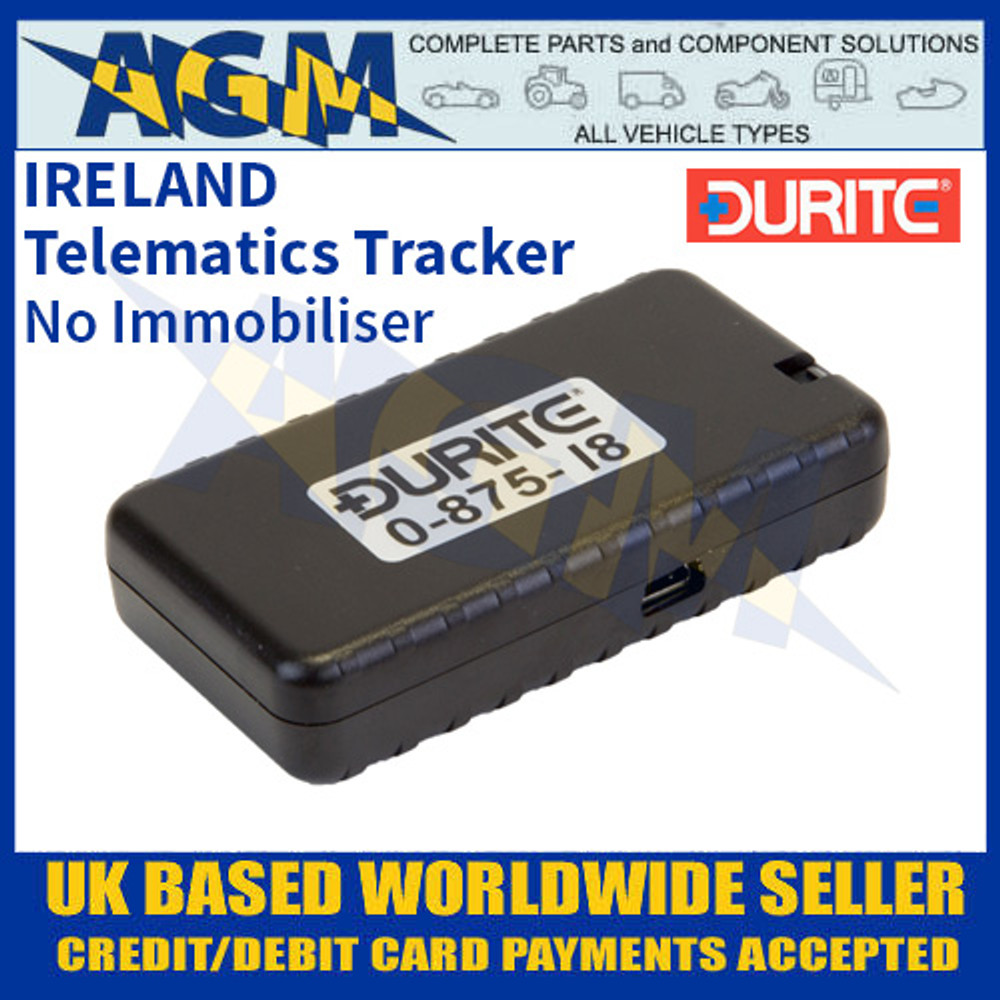 0-875-18 Durite IRELAND Telematics Tracker without Immobiliser