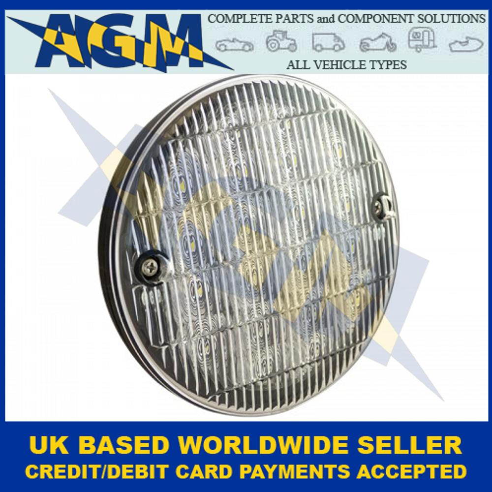 LED Autolamps HB140WM, Slimline Hamburger Reverse Lamp, 12-24 Volt