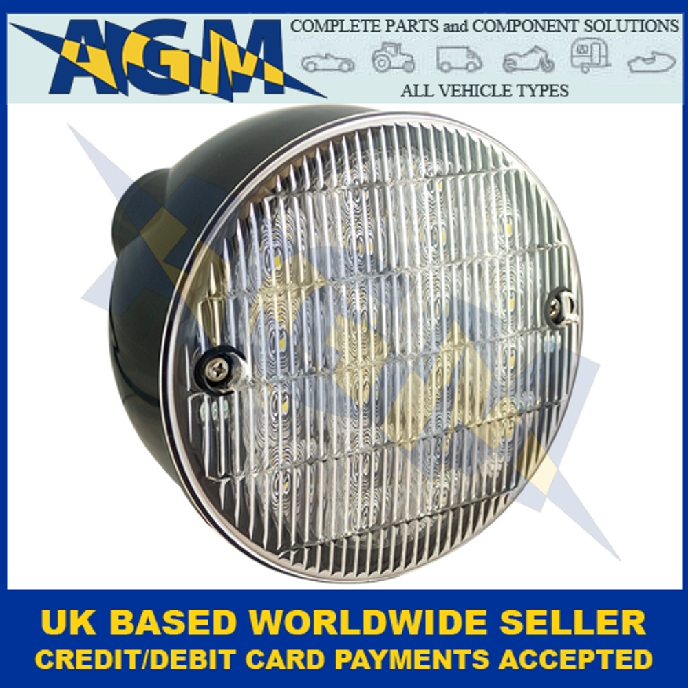 LED Autolamps HBL140WM, Hamburger Reverse Lamp, 12-24 Volt
