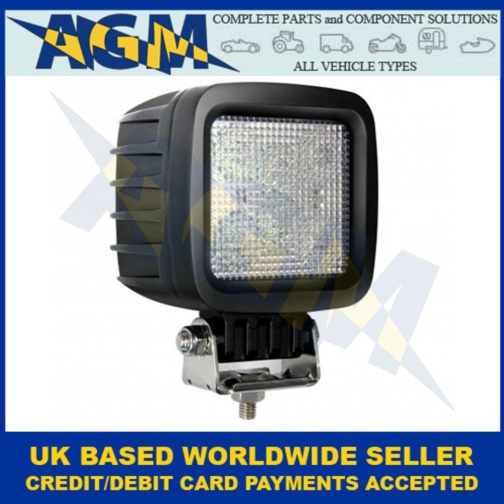 LED Autolamps 10030B80V, Square, High Powered Flood Lamp, 10-80v