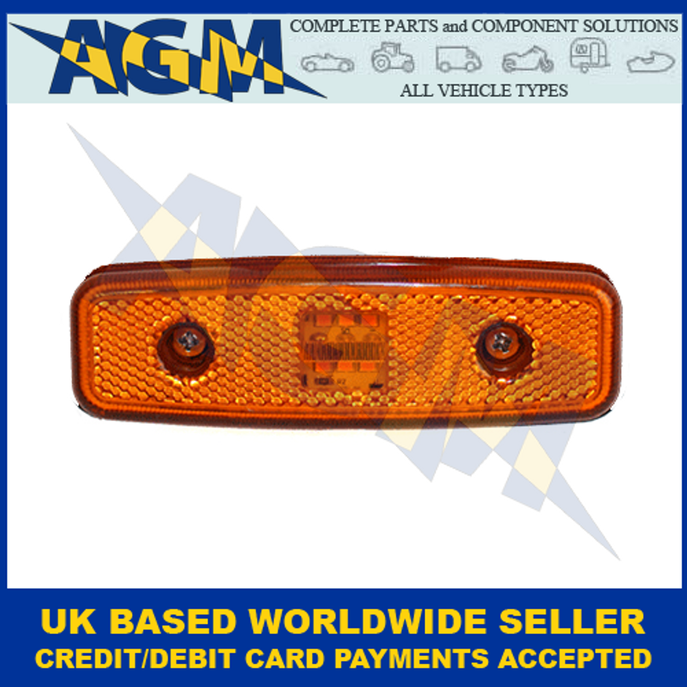 Truck-Lite 876/03/00, Cat5, Direction Indicator And Side Marker, Amber Lamp, 24V