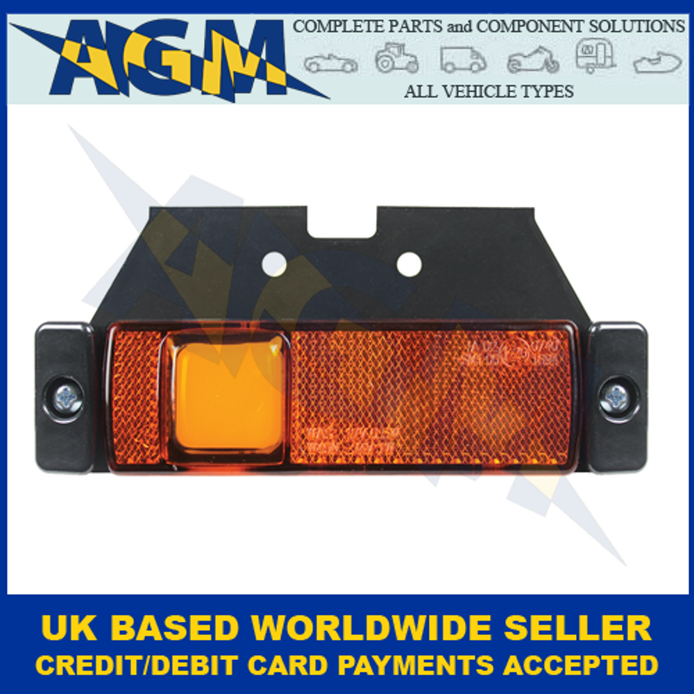 Guardian Automotive ML102A, Amber LED Side Marker With Neon Effect, 12-24v