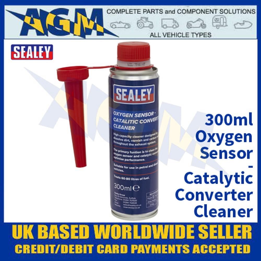 Sealey CCOS300 Oxygen Sensor - Catalytic Converter Cleaner 300ml