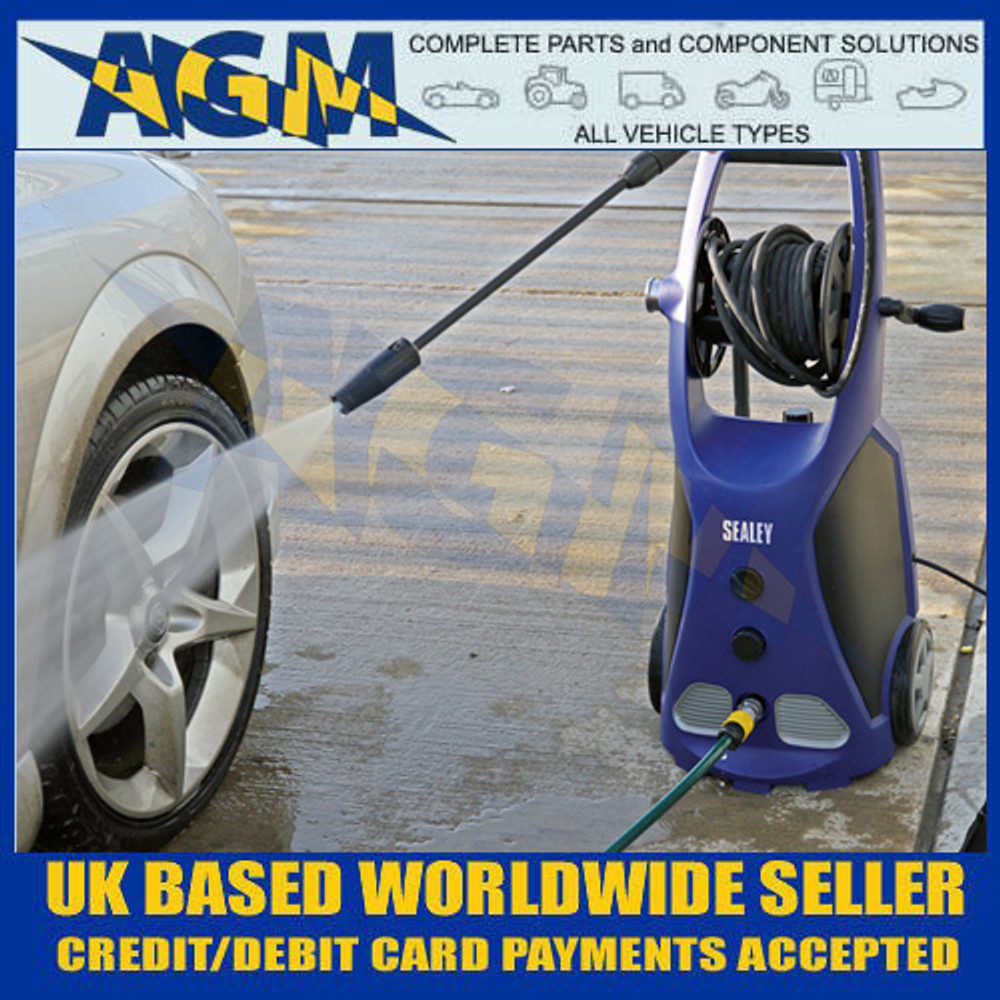 Sealey PW3500 Professional Pressure Washer 140bar with TSS & Rotablast Nozzle 230V