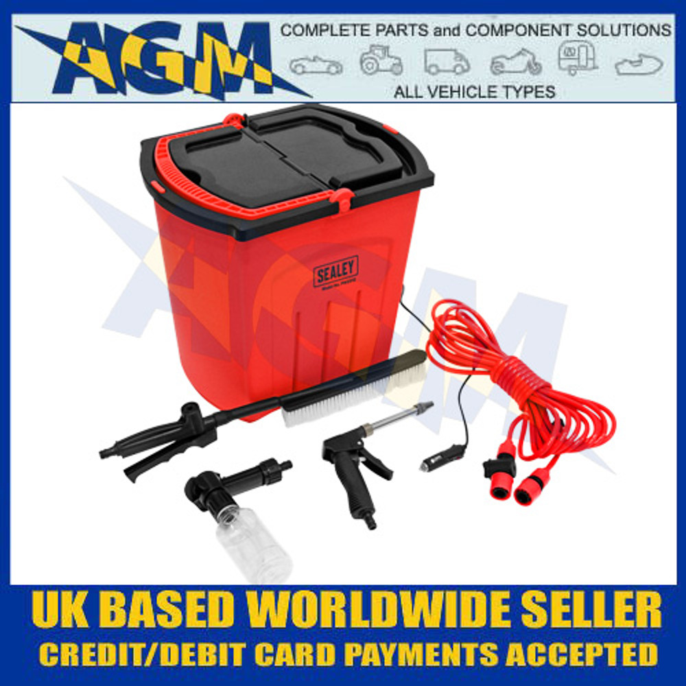 Sealey PW2512 Portable Pressure Washer 25ltr - 12v Powered