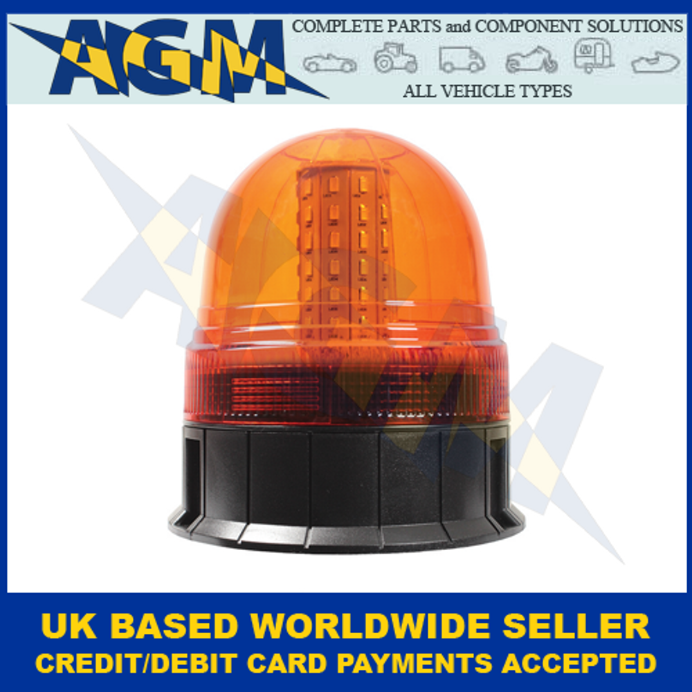 Guardian AMB91, R10, 3 Bolt Fixing, Multi-purpose, LED Beacon, 12/24v