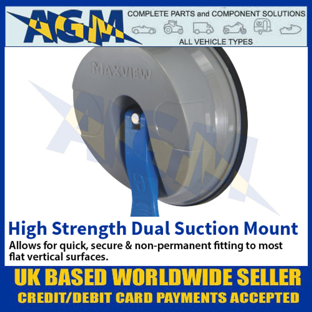 High Strength Dual Suction Mount