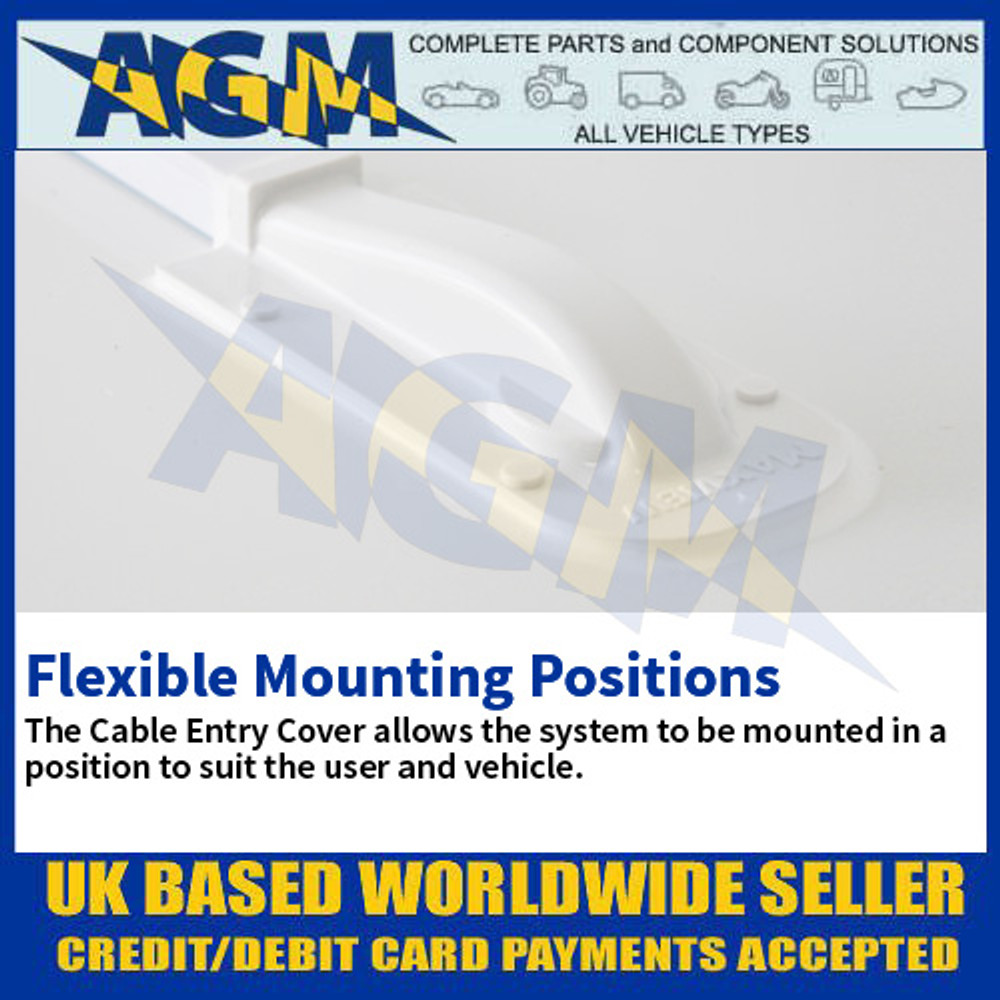 Flexible Mounting Position