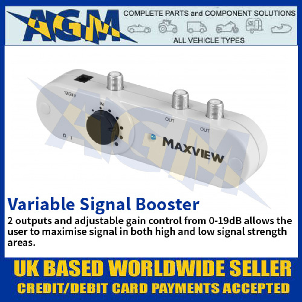 Variable Signal Booster