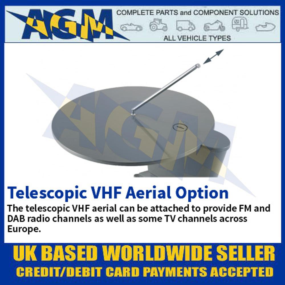 Telescopic VHF Aerial Option