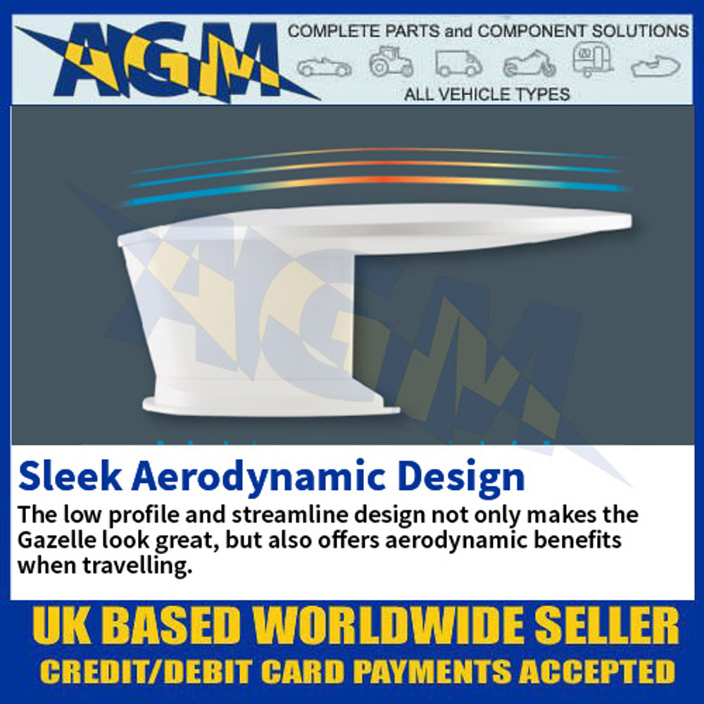 Sleek Aerodynamic Design