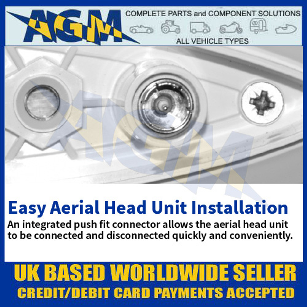 Easy Aerial Head Unit Installation