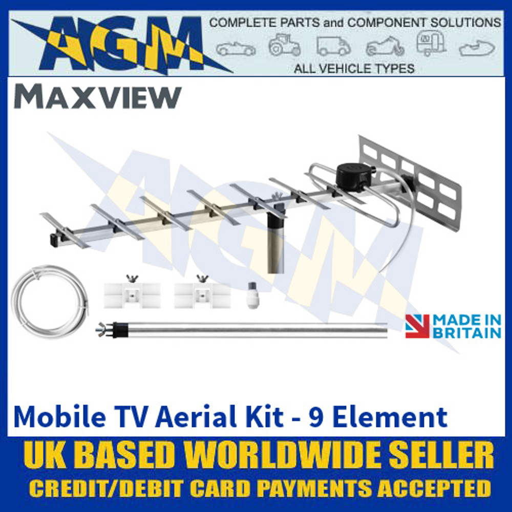 Maxview Mobile TV Aerial Kit - 9 Element