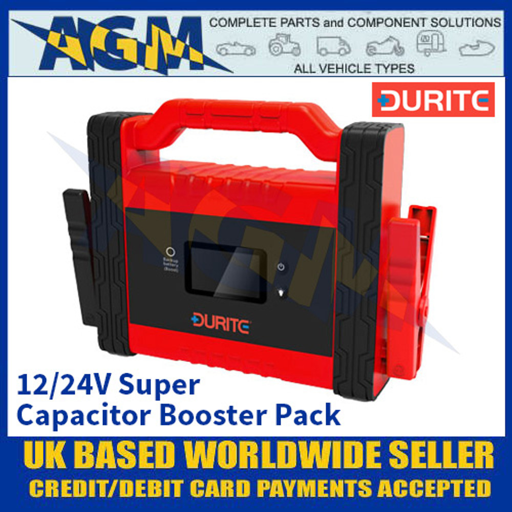 Durite 0-649-70 12/24V Super Capacitor Booster Pack - Heavy Duty