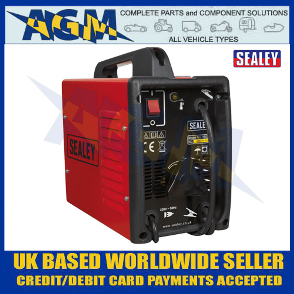 Sealey 160XT Arc Welder 160A with Accessory Kit