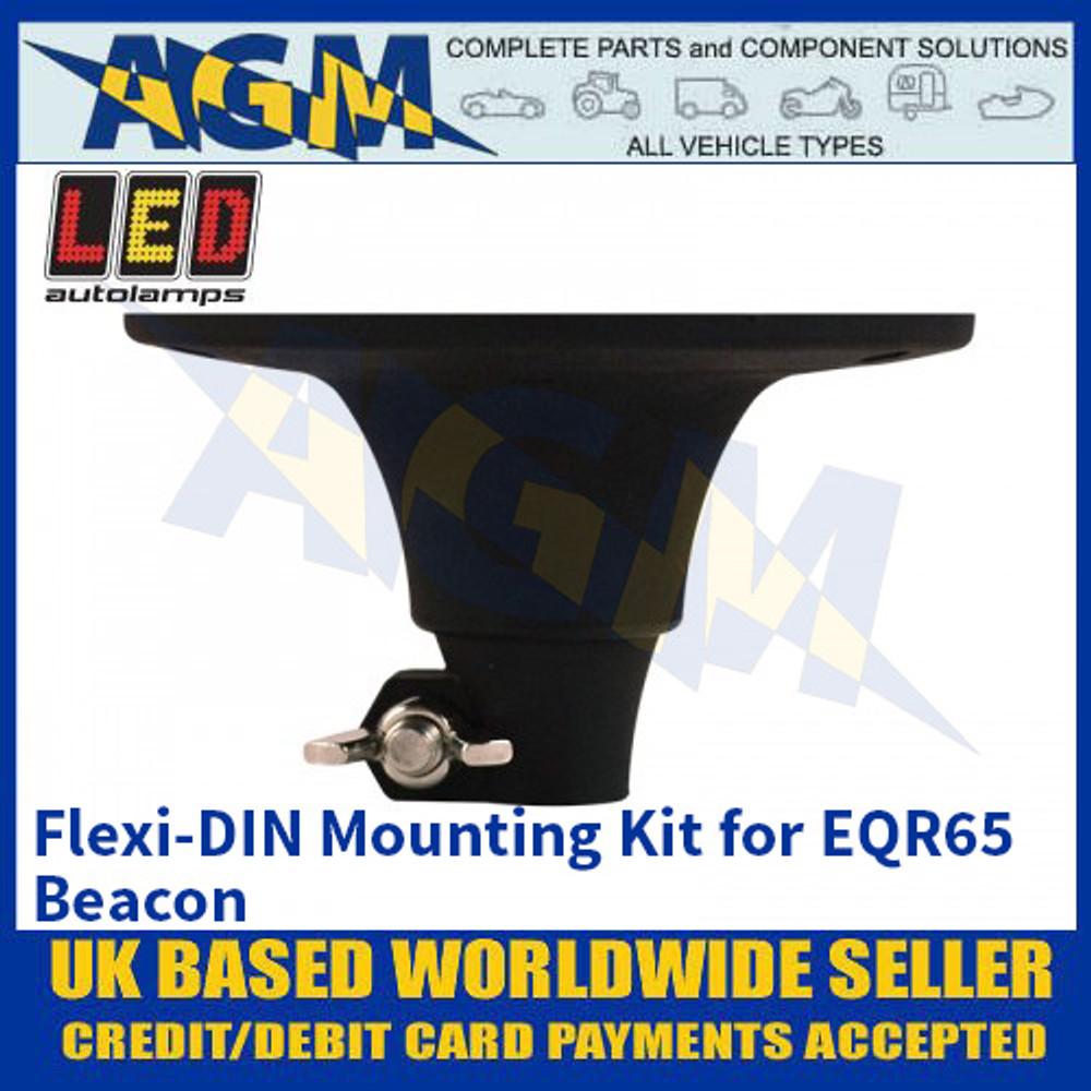 LED Autolamps Flexi-DIN Mounting Kit for EQR65 Beacon