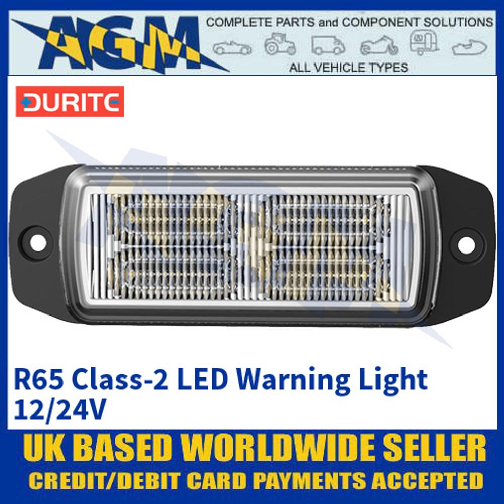 Durite 0-441-20 R65 Class-2 LED Warning Light - 12/24V