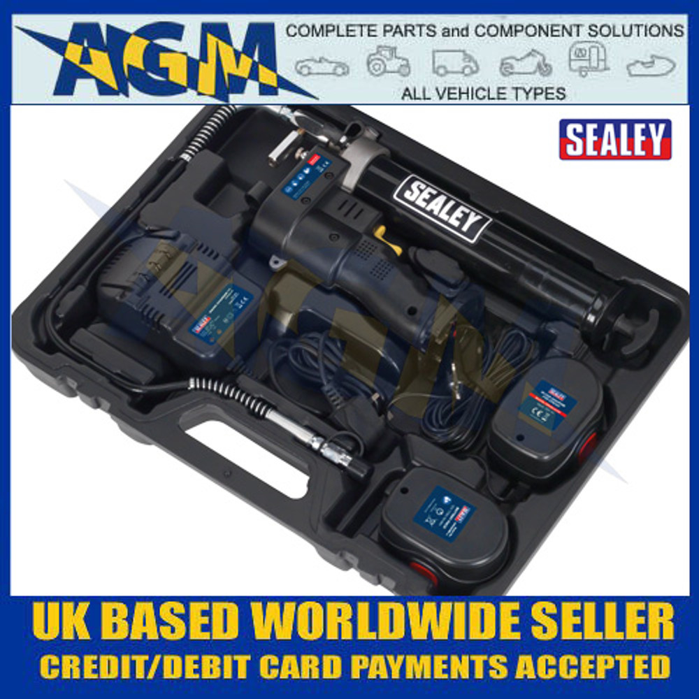 Sealey CPG12V Cordless Grease Gun 12V