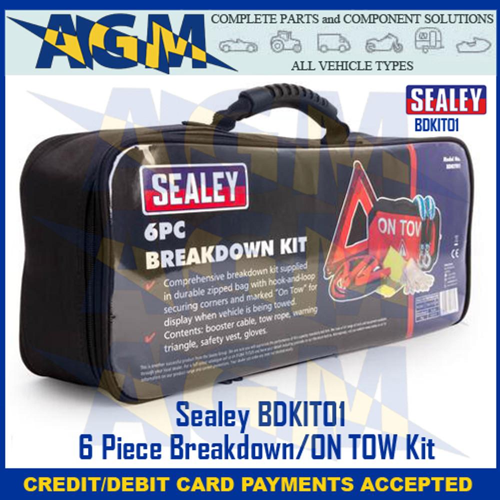 Sealey BDKIT01 6 Piece Breakdown/ON TOW  Kit