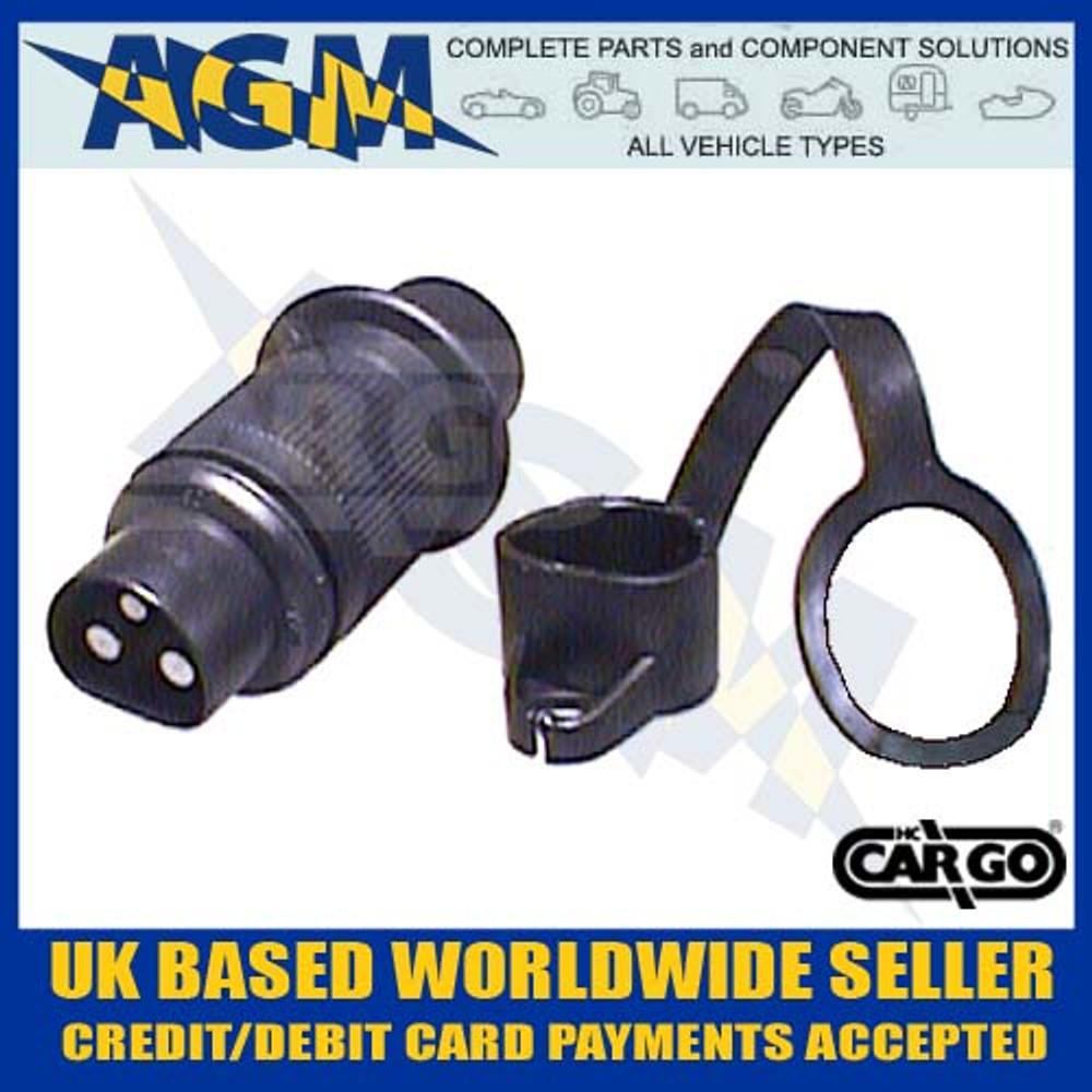 cargo, 180308, non, reversible, trailer, plug