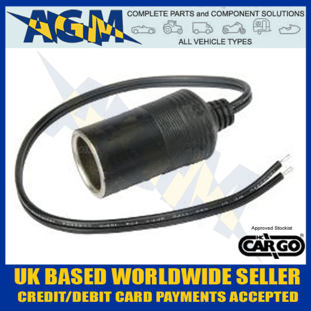 cargo, 181575, cigarette, lighter,  12v, 24v, power, socket