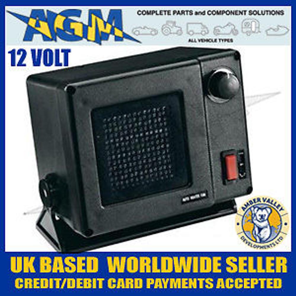 Amber Valley AVFN 10/12, 12 volt, 300W Ceramic Fan Heater