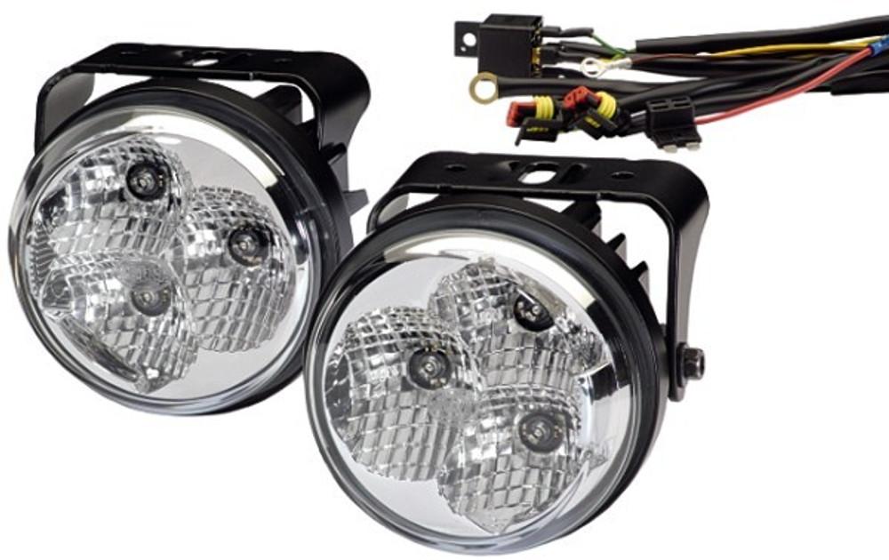 HellaLED daytime running light set 12V and 24V