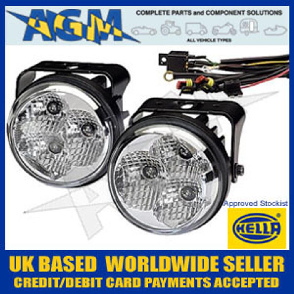 Brand New HELLA LED daytime running light set 12V and 24V