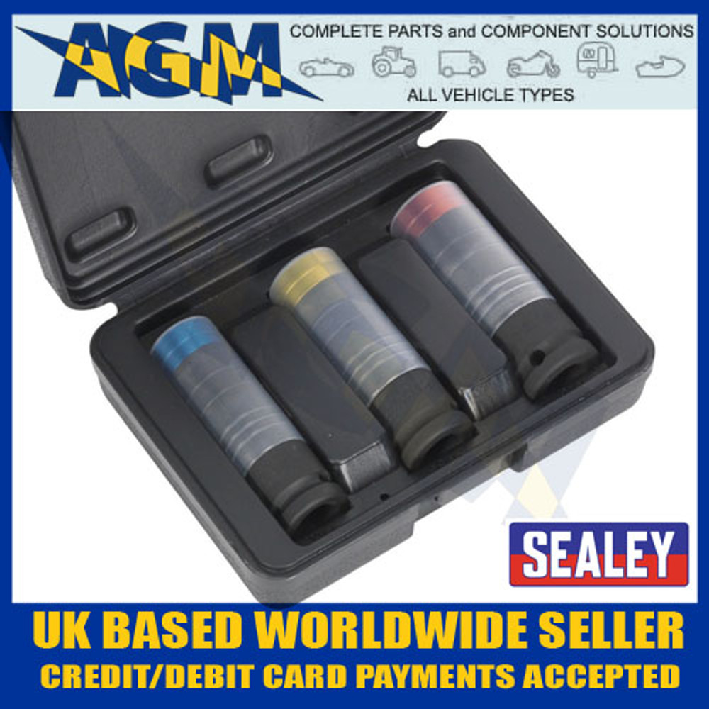 SEALEY Tools - SX039 Alloy Wheel Stud/Bolt Removal Sockets